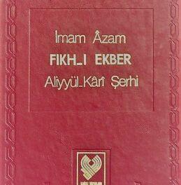 Fikh Ekber Serh – ücretsiz pdf indirin