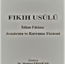 Fıkıh İslam Fıkhını Araştırma ve Kavrama Yöntemi pdf