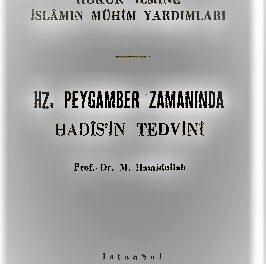 HZ. PEYGAMBER ZAMANINDA HADÎSİN TEDVİN pdf