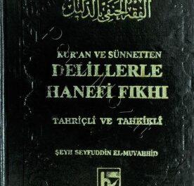 Kuran Ve Sunnetten Delillerle Hanefi Fikhi pdf