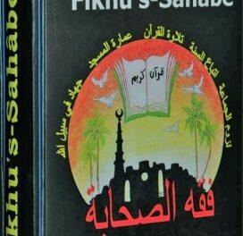 Fikhus Sahabe- pdf indirin