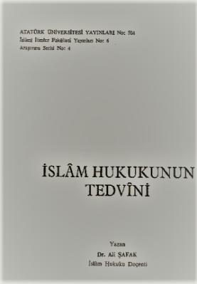 Islam Hukukunun Tedvini ücretsiz pdf indirin
