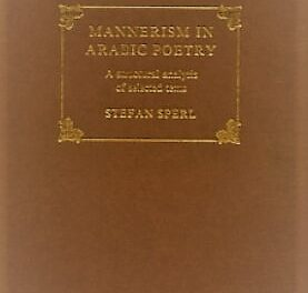 Mannerism in Arabic Poetry pdf