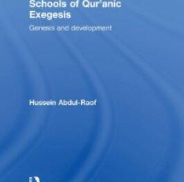 Schools of Quranic Exegesis pdf