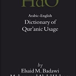 ARABIC ENGLISH DICTIONARY OF QURANIC USAGE pdf