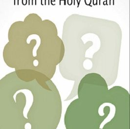 1001 Questions From The Holy Quran pdf download